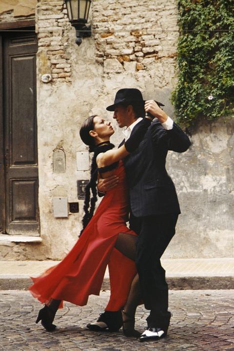 Liste danse de couple